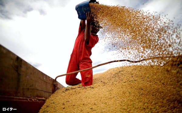 ブラジルの大豆輸出量は過去最高ペース=ロイター