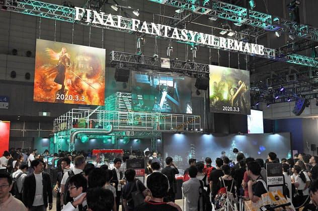 2020年の東京ゲームショウはオンラインで開催(写真は19年の様子)