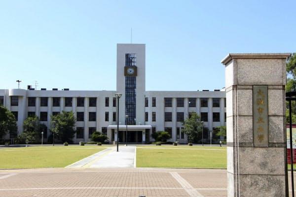 大阪市立大の杉本キャンパス(市立大提供)=共同