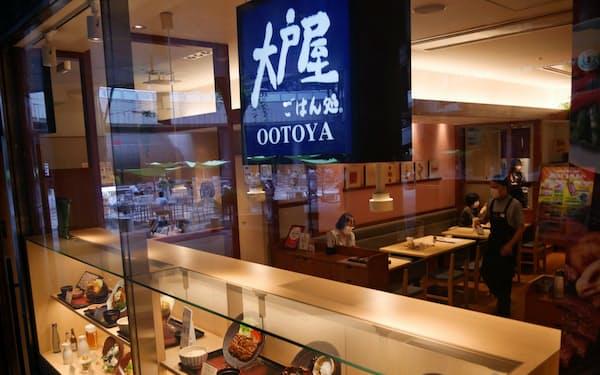 大戸屋HDは自力での経営立て直しを目指す(25日、東京都新宿区)