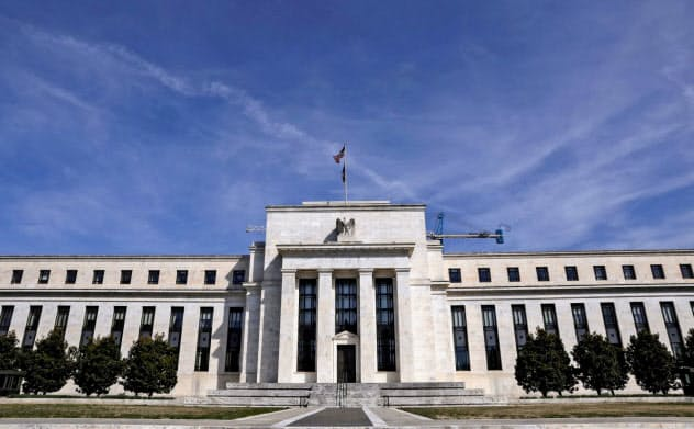 FRBは米銀大手に自社株買いと増配の停止を求めた(首都ワシントンの本部)=ロイター