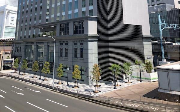 ホテルと商業施設が合わせてオープンする(横浜市内)