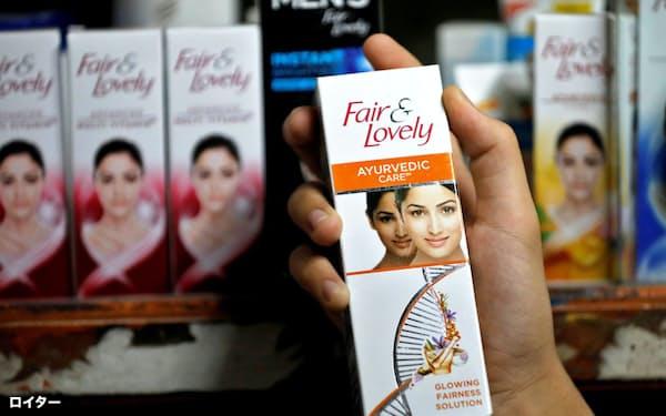 ユニリーバは、インドや中東地域で人気の美白クリームのブランド名やパッケージデザインを刷新する=ロイター