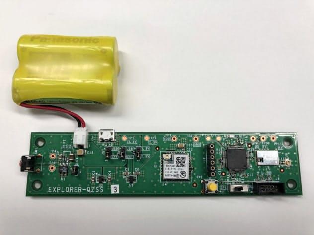 エクスプローラが開発した、「みちびき」対応のコンテナ位置確認用の無線ICタグ