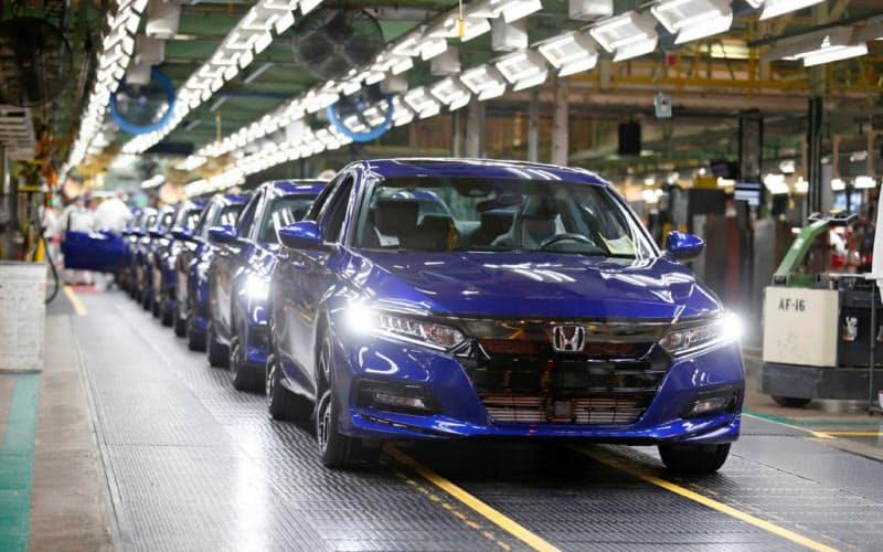 ホンダはサイバー攻撃で北米などの工場の操業が止まった(オハイオ州の完成車工場)