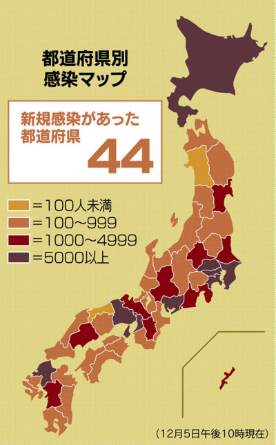 今日 の 都 道府県 別 コロナ 感染 者 数