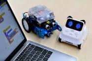 小学校のプログラミング教育に使うメイクブロックのロボット
