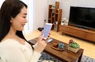 スマホで家じゅうのIoT家電を操作する(大倉の千葉県習志野市のモデルハウス)