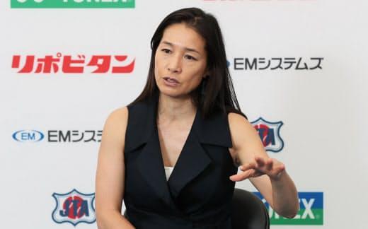 今の日本の女子選手は「海外で壁にぶち当たったときに伸び悩んでしまう」と話す伊達さん