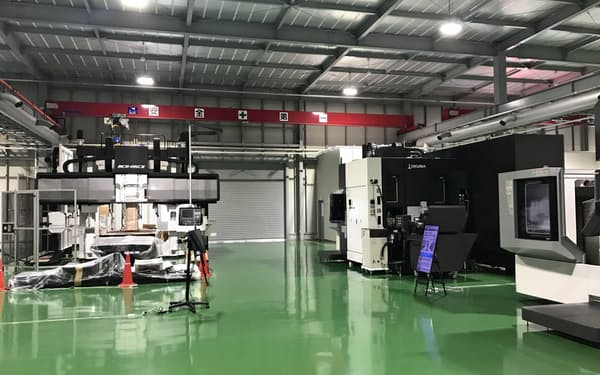 ローカル5Gの実証実験をする第3工場