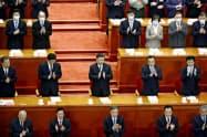 「香港国家安全維持法案」を推進する習近平指導部(共同)