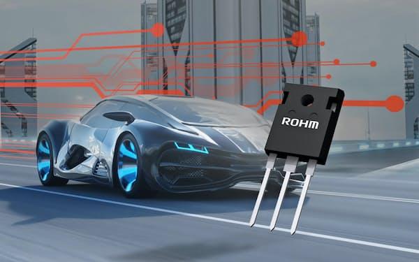 ロームのSiC半導体は車載向けで採用が期待される