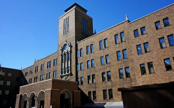 学長の解任が決まった北海道大学(札幌市にある農学部校舎)