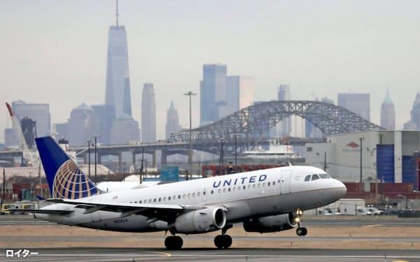 ユナイテッド航空の四半期赤字予想はアナリストによって7倍の開きがある=ロイター