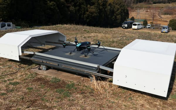 センシンロボティクスはドローンの離着陸拠点をスマート都市などに活用する