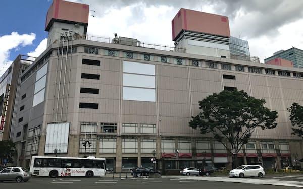 仙台市内の最高路線価地点の旧さくら野百貨店前