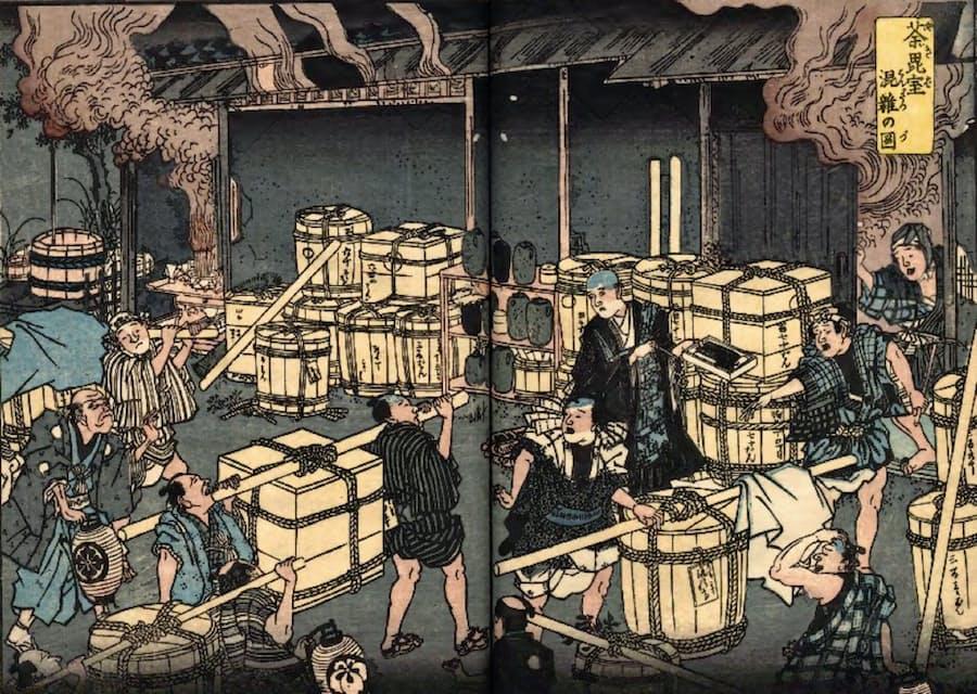江戸 時代 梅毒
