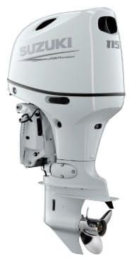 新型船外機「DF115BG」は、電子スロットルと電子シフトを採用