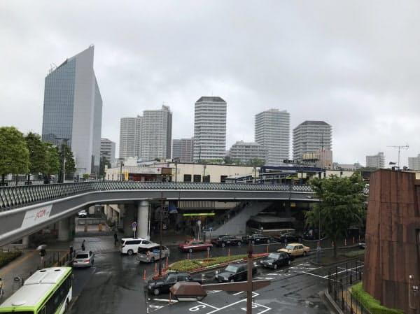 タワーマンションが立ち並ぶ川口駅前(埼玉県川口市)