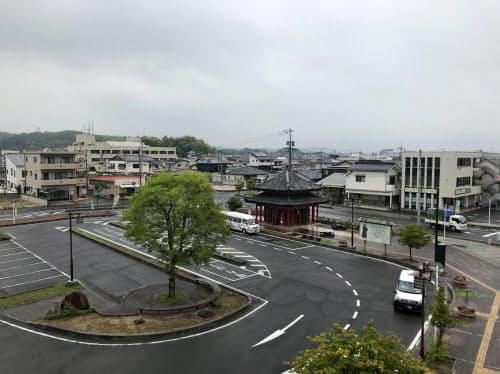 岡山県倉敷市真備町地区の被害が大きかった中心部は16.8%下落から0.2%上昇に転じた