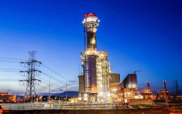 ファーストジェンが運営する天然ガス火力発電所(フィリピン北部バタンガス州)