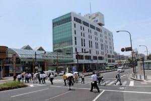 前年から21.2%上昇した「奈良近鉄ビル」前