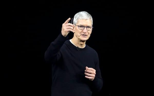 米アップル最高経営責任者(CEO)のティム・クック氏