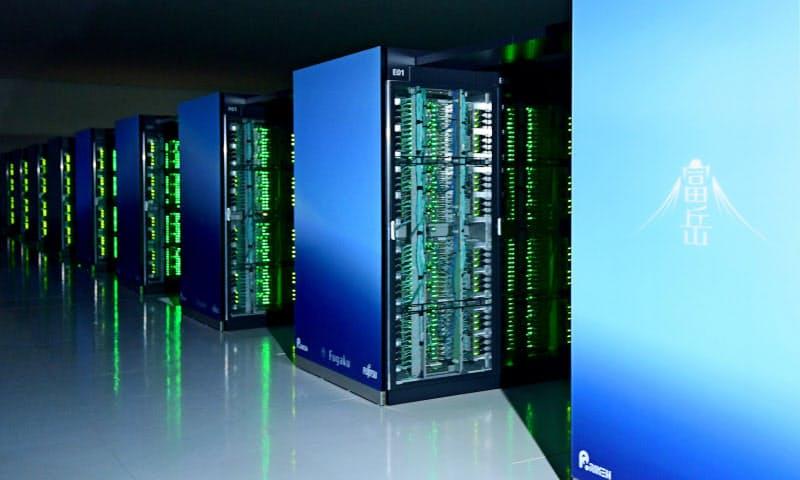計算速度で世界一になった理化学研究所などが開発したスーパーコンピューター「富岳」