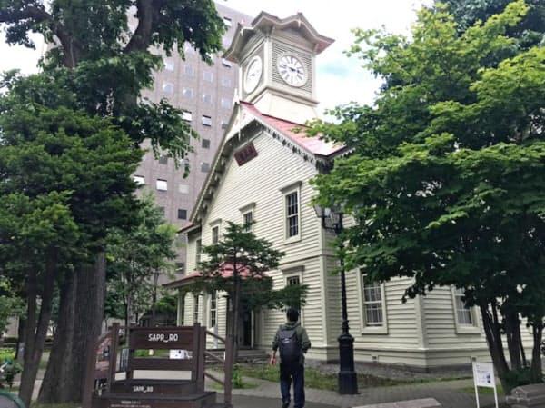 北海道の観光回復に期待が高まっている(札幌市時計台)