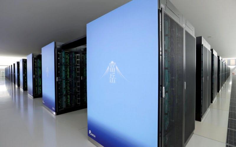 理化学研究所と富士通が共同開発したスーパーコンピューター「富岳」=共同
