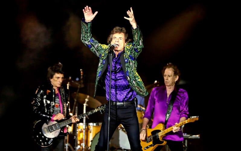 人気ロックバンド、ローリング・ストーンズも英音楽業界の窮状を訴えるアーティストらに名を連ねている(写真は2019年米国でのもの)=ロイター