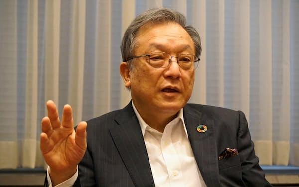 西日本シティ銀行の谷川浩道頭取は「コロナで信用リスクが高まり、リスク管理は近年で最も難しい」と話す
