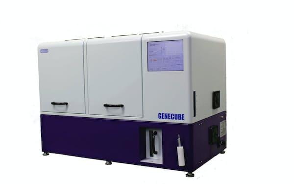 東洋紡の遺伝子解析装置「GENECUBE」は新たな検査試薬によって新型コロナにも対応する