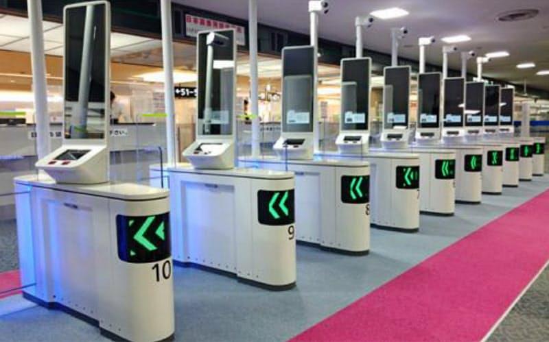 空港向け顔認証ゲートなども手がける