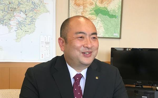群馬県企業局企業管理者の中島啓介氏