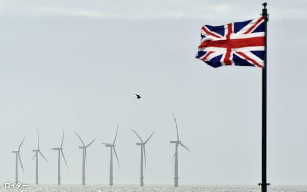 洋上風力発電など環境対策の加速が期待される=ロイター