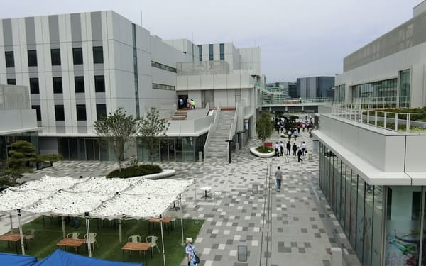 羽田空港の旧ターミナル跡地に新しい研究開発と商業の複合施設がオープンした