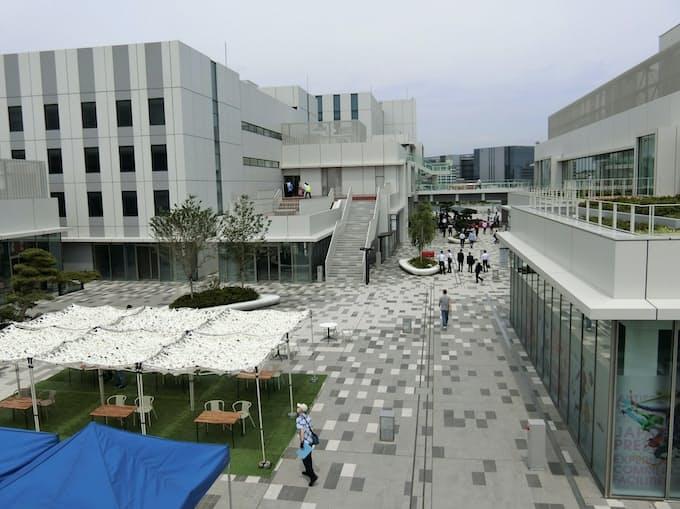 羽田イノベーションシティ開業 研究施設や飲食店が入居: 日本経済新聞