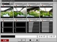 「コスモレコーダー」では映像や音声、信号を同時に記録できる
