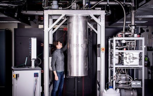 米IBMの量子コンピューター