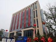 パナソニックは中国でソフトウエアの開発拠点を拡張している(3日、遼寧省大連市)