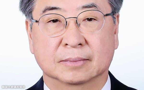 国家安保室長に内定した徐薫氏=韓国大統領府提供