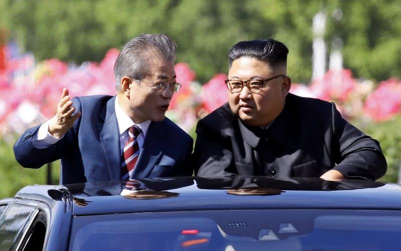 北朝鮮が恨む文氏の助言 2年前の会談に緊張の伏線