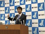 大井川知事は「第2波がすぐそこまで迫っている」と述べた