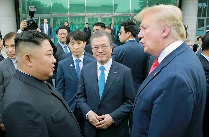 北朝鮮高官「米と向き合う必要なし」 韓国仲介けん制: 日本経済新聞