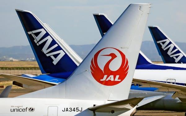 個人投資家は日本航空、ANAホールディングスに逆張り投資した