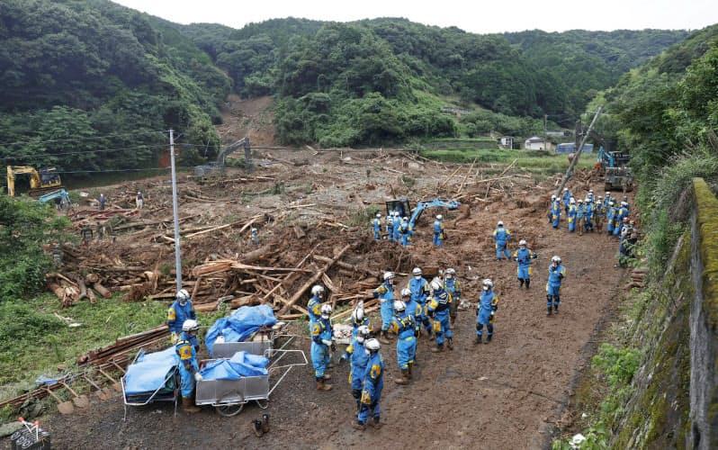 熊本豪雨被害
