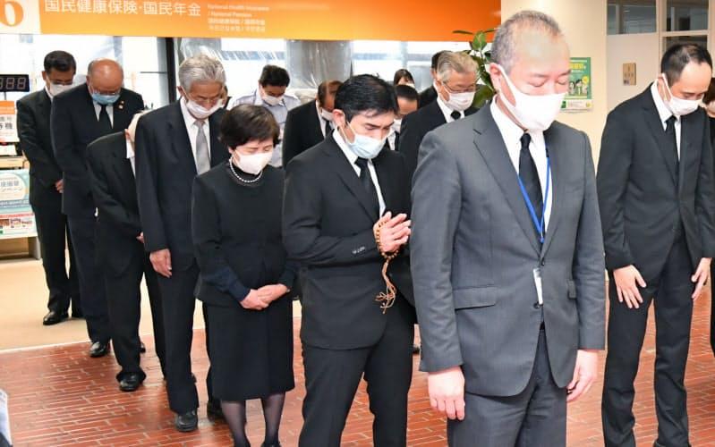 西日本豪雨2年、各地で追悼式 遺族「教訓引き継ぐ」