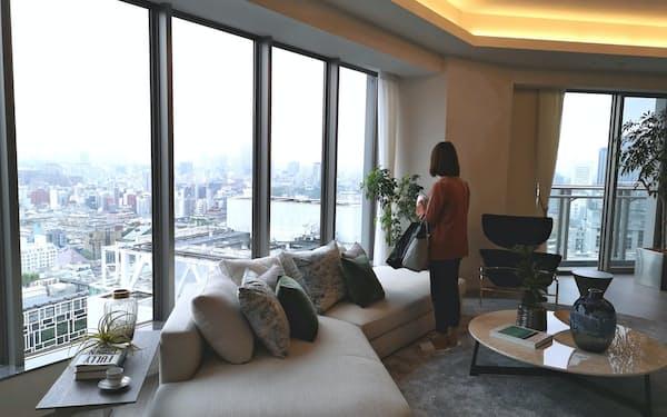6月に入居が始まった高層賃貸マンション「クラス青山」(東京都港区)は定期借家契約物件だ
