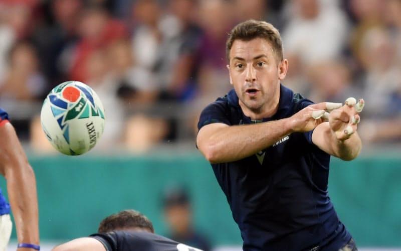 レイドローは2019年ワールドカップ日本大会でもスコットランド代表として出場した